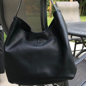 Tory Burch Marion Slouchy Leather Hobo
